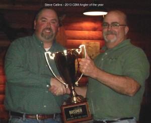 Steve Callins -2013 CBM Angler of the year